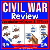 Civil War Review for 4th, 5th & 6th Grades ~American Histo