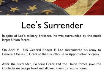 Civil War - Robert E. Lee PowerPoint