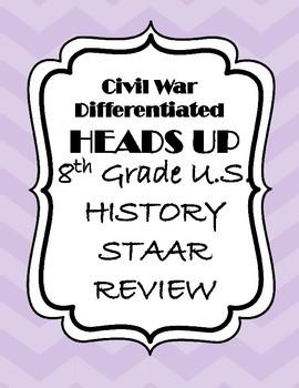 Civil War STAAR Review Game