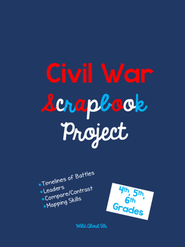 Civil War Scrapbook Project