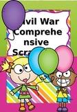 Civil War Scrapbook Social Studies