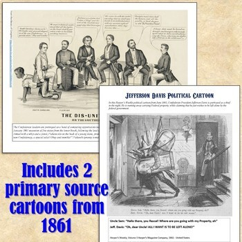 Civil War & Secession Primary Source Analysis Activity