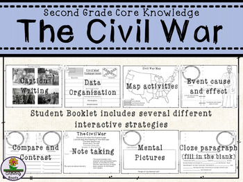 The Civil War - Second Grade Core Knowledge Bundle