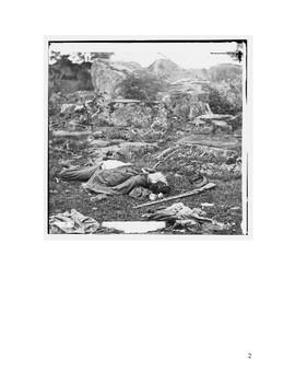 Civil War Short Story-Photo Assignment - Character, Setting, Plot