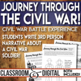 Civil War Simulation Students Experience the War as a Soldier! Distance Learning