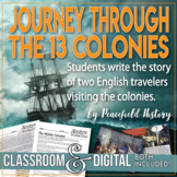 13 Colonies Students Journey through the Colonies with an