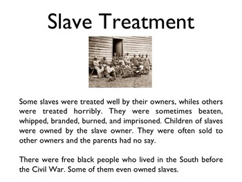 Civil War - Slavery PowerPoint