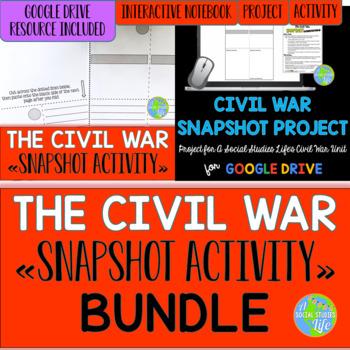 Civil War Snapshot Activity BUNDLE