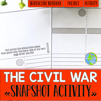 Civil War Snapshot Foldable