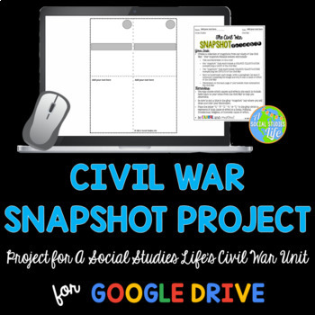 Civil War Snapshot Foldable Project