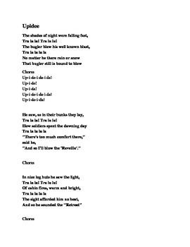 Civil War Song Lyrics