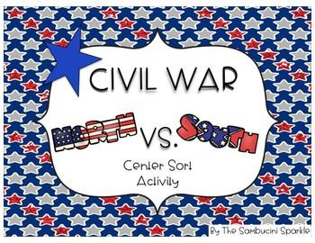 Civil War Sort Activity