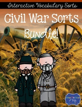 Civil War Sorts Bundle