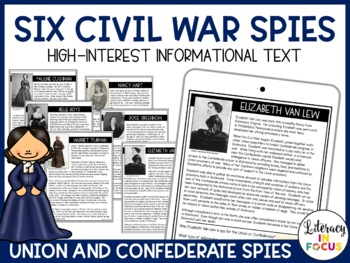 Civil War Spies: Discovery Stations