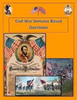 Civil War Stimulus Based Questions