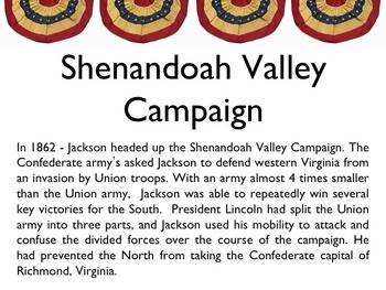 Civil War - Stonewall Jackson PowerPoint