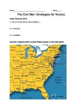 Civil War: Strategies for Victory