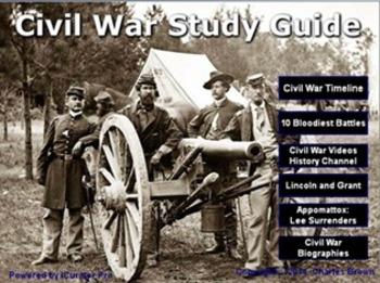 Civil War Study App