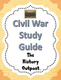 Civil War Study Guide Questions