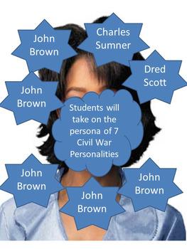 Civil War Talk Show Simulation