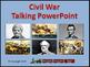 Civil War Talking PowerPoint & Four Puzzle Pack