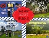 Civil War Task Cards Bundle