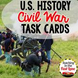 Civil War Task Cards {U.S. History}