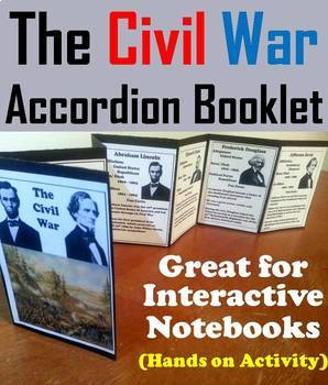 Civil War Task Cards and Activities Bundle