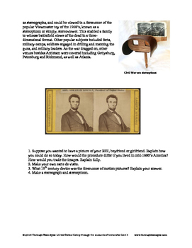 Civil War Technology: From CDV to the New Selfie!