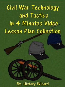 Civil War Technology and Tactics in 4 Minutes Video Lesson Plan Collection