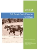 Civil War Test--5th Grade Social Studies