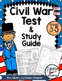 Civil War Test and Study Guide