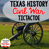 Civil War Activity: TicTacToe Choice Board