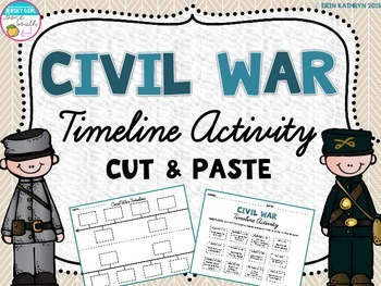 Civil War - Timeline Activity
