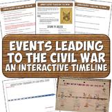 Civil War Timeline Activity Events Leading to War