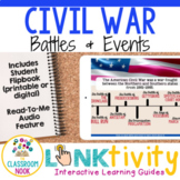 Link & Think Digital Guide - Civil War {Google Classroom C