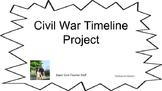 Civil War Timeline Project