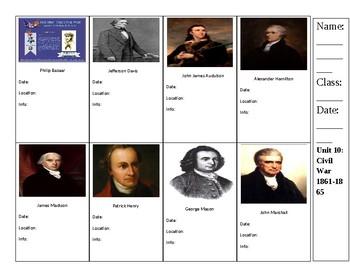 Civil War Trading Cards
