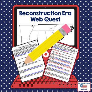 Reconstruction Era Web Quest