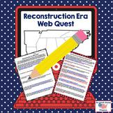 Reconstruction Era Webquest