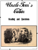 Events Leading to the Civil War - Uncle Tom's Cabin Reading and Questions