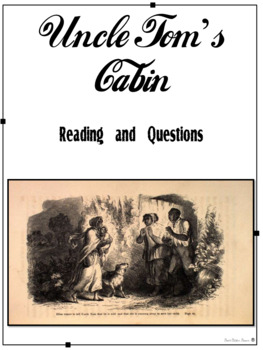 Events Leading to the Civil War - Uncle Tom's Cabin Readin