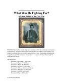 Civil War Union Soldier Document Based Question
