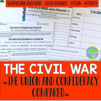 Civil War - Union and Confederacy Compared