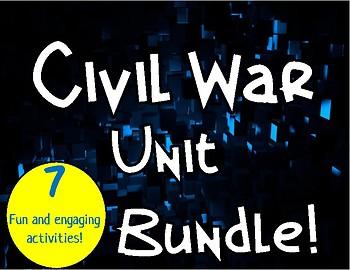 Civil War Unit Bundle!