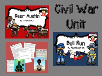 Civil War Unit - Informational Passages & Novel Studies