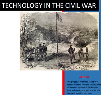 Civil War Unit Lessons