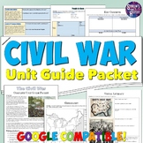 Civil War Study Guide and Unit Packet