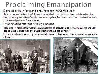 Civil War (Unit PowerPoint)