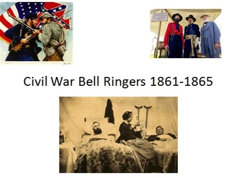 Civil War Unit Starter Pack: 5 assignments and 38 Bell Ringers